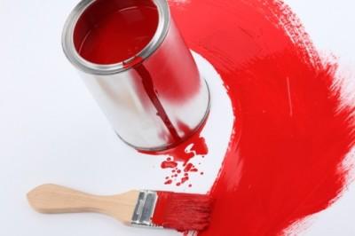 Fiesta del color rojo